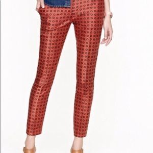 J Crew Silk Trousers new without tags